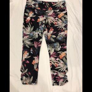 Jockey Floral Print Stretch Capri